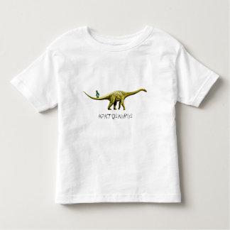 Apatosaurus & Grape Green Ape Toddler T-Shirt