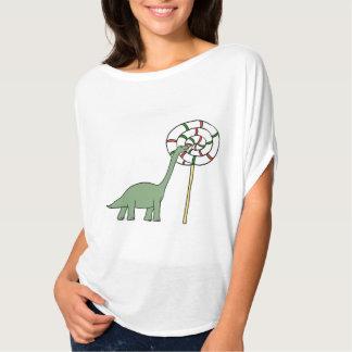 Apatosauruses Love Lollipops T-Shirt