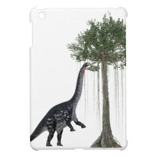 Apatosurus Dinosaur feeding on a Tree iPad Mini Case