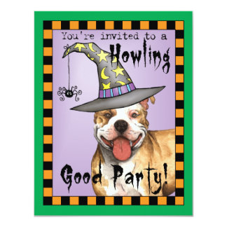 APBT Witch Personalized Invitation