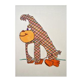 ape acrylic wall art