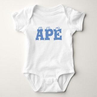 Ape baby cloth baby bodysuit