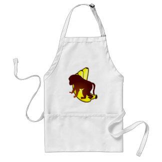 Ape bananas monkey bananas apron