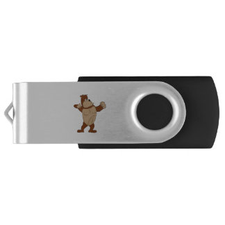 Ape cartoon character gifts and products swivel USB 3.0 flash drive