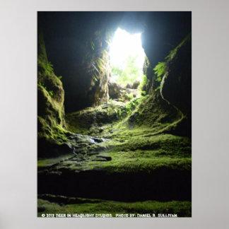 Ape Caves WA Poster