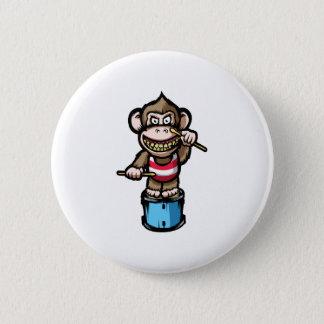 Ape Drum 6 Cm Round Badge