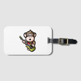 Ape Guitar Luggage Tag