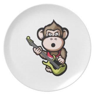 Ape Guitar Party Plates