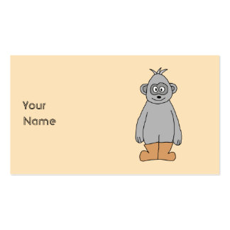 Ape in Brown Boots. Business Cards