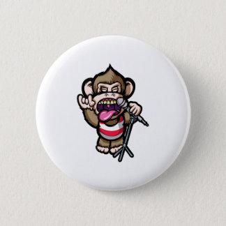Ape Mic 6 Cm Round Badge