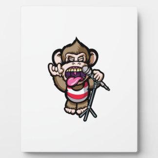 Ape Mic Plaque