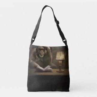 Ape Monkey Book Tote Bag
