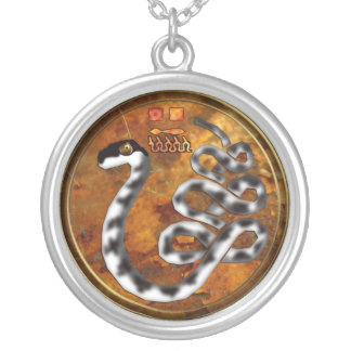 apepi/apophis silver plated necklace