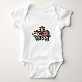 Apes Rock Baby Bodysuit