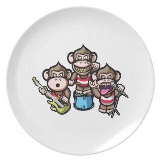 Apes Rock Dinner Plates