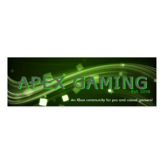 APEX Gaming business cards