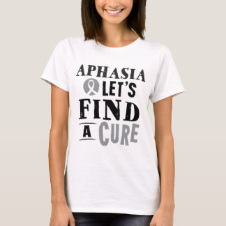 Aphasia Lets Find A Cure Womens Tshirt