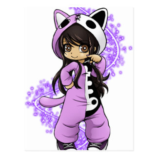 Aphmau Official Limited Edition Postcard