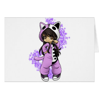 Aphmau Official Limited Edition Tee! Greeting Card