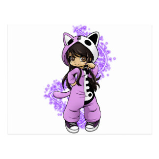 Aphmau Official Limited Edition Tee! Postcard