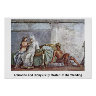 Aphrodite And Dionysus By Master Of The Wedding Poster