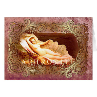 APHRODITE - Greeting Card