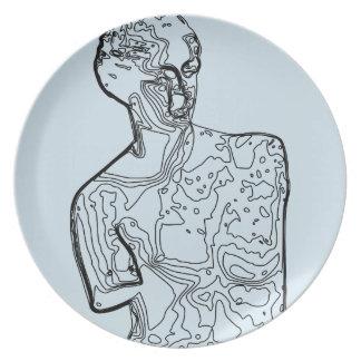 Aphrodite / Melamine Plate