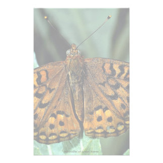 Aphrodite on green leaves stationery paper