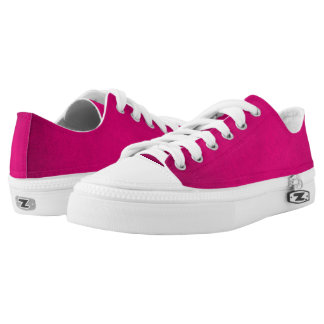 Aphrodite Pink Love Grunge Leather Printed Shoes
