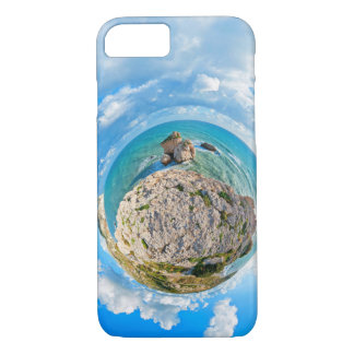 Aphrodite'S Rock From The Sky. Cyprus. iPhone 7 Case