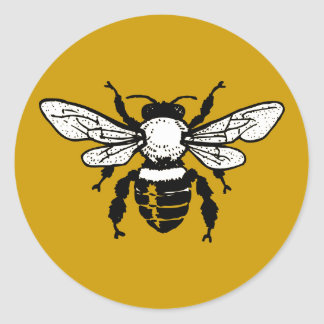 Apis Mellifera Honeybee Sticker