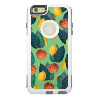 aples and lemons green OtterBox iPhone 6/6s plus case