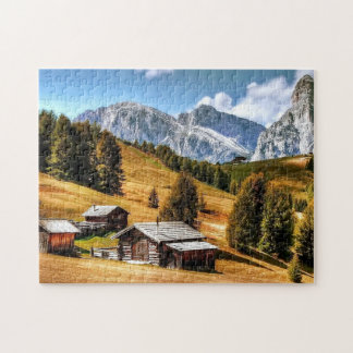 Apline Countryside Landscape Jigsaw Puzzle