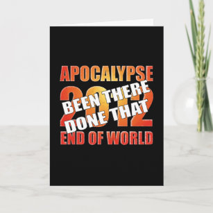decal sticker 12//21//12 end of world funny prepper I SURVIVED Mayan Apocalypse