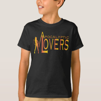 Apocalyptic Lovers Kids Tee Front Only.