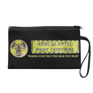 Apocalyptic Pest Control Wristlet Clutches