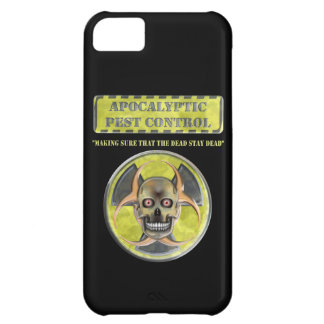 Apocalyptic Pest Control iPhone 5C Covers