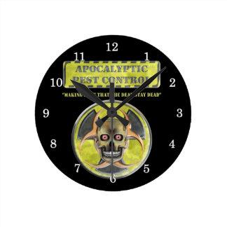 Apocalyptic Pest Control Clock