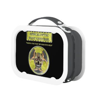 Apocalyptic Pest Control Lunch Boxes