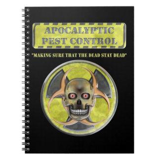 Apocalyptic Pest Control Notebooks