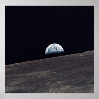 Apollo 10 Earthrise Poster