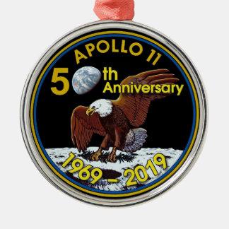 Apollo 11 50th Anniversary Metal Ornament