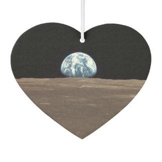 APOLLO 11 EARTHRISE (earth moon solar system) ~.jp Car Air Freshener