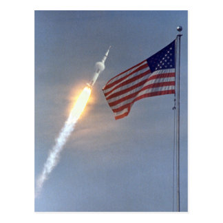 Apollo 11 Launch Postcard