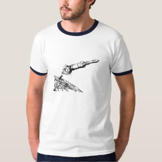 Apollo 11 Mission Launch of Saturn 5 T-Shirt