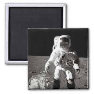 Apollo 12 Moonwalk Magnet
