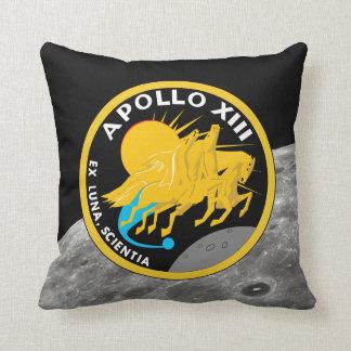 Apollo 13 NASA Mission Patch Logo Cushion
