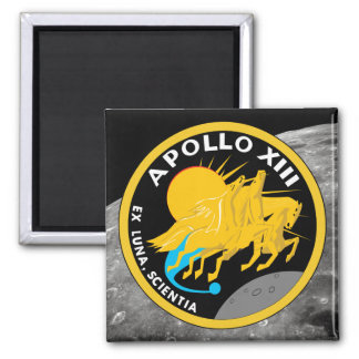 Apollo 13 NASA Mission Patch Logo Magnet