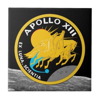 Apollo 13 NASA Mission Patch Logo Tile
