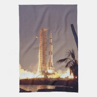 Apollo 14 tea towel